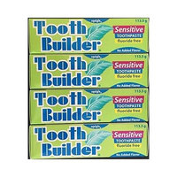 Squigle Tooth Builder Sensitive Toothpaste 4 Oz - 4 Pack