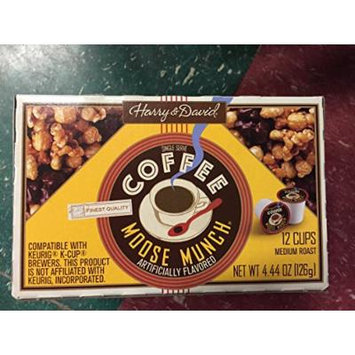 Harry & David, Moose Munch Single Serve K-cups, 12 Count