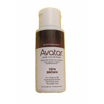 Avatar Semi-Permanent Hair Color - Brown