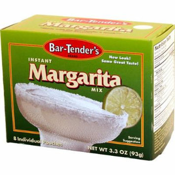 Margarita Bar-Tenders Instant Cocktail Mix: Case of 12 Boxes - 96 Pouches