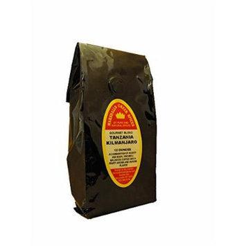 Marshalls Creek Spices Gourmet Whole Bean Coffee, Tanzania Kilimanjaro, 12 Ounce