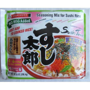 Nagatanien Seasoning Mix for Sushi Rice, 10.52 Ounce Units (Pack of 5)