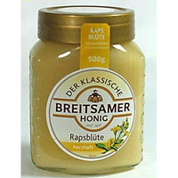 Breitsamer Creamy Honey in Jar, Rapsflower, 8.8 Ounce (Pack of 10)