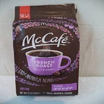 Mcdonalds Mccafe Ground Coffee Variety Bundle, 12 Oz (Pack of 2) Includes 1-bag Premium Roast, Medium + 1-bag French Roast, Dark