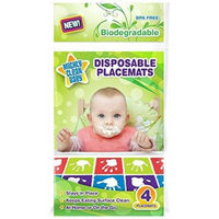 Mighty Clean Baby Disposable Placemats - Unisex - 4 ct