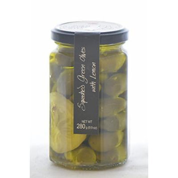 Casina Rossa Green Olives with Lemon and Olive Oil - 9oz
