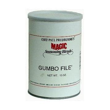Chef Paul File Gumbo Seasoning - 13 oz. Canister