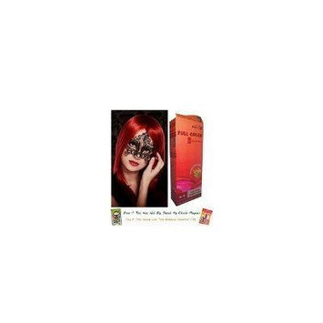 Special Sets : Premium Permanent Hair Color Cream Dye Light Blonde Red Reflect Punk Goth 8/5