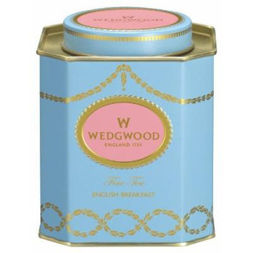 Wedgwood Everyday Luxury English Breakfast Caddy, 140g, Blue
