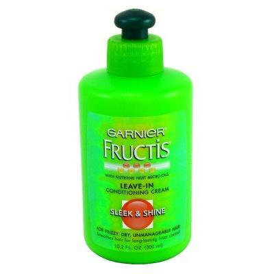 Garnier Fructis Leave-In Conditioner Sleek/Shine 10.2 oz. (3-Pack) with Free Nail File