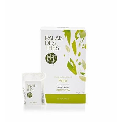 Palais des Thés Pure Indulgence Pear Green Tea, 20 Tea Bags (40g/1.4oz)
