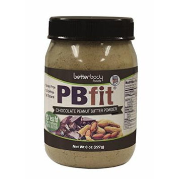 BetterBody Foods PB Fit Powder, Chocolate Peanut Butter, 8 Ounce