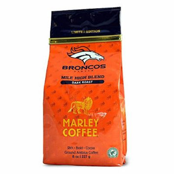 Marley Coffee, Mile High Blend, Ground Coffee, 8 Ounce