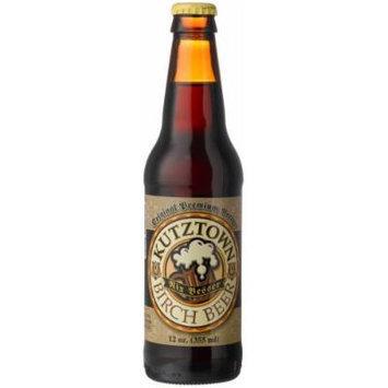 Kutztown Birch Beer, Nix Besser, 12-Ounce Glass Bottles (Pack of 12)