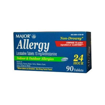 Non-Drowsy Allergy 10mg/90tablets- COMPARE TO CLARITIN