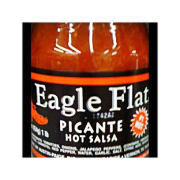 Eagle Flats 16oz Jar (Pack of 6) (Hot Picante Salsa)