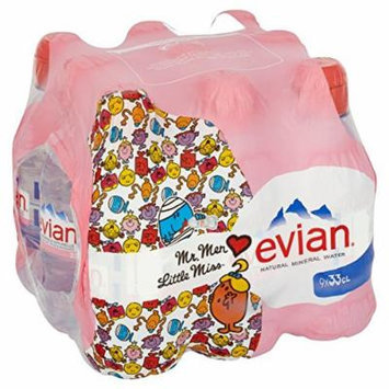 Evian - Natural Mineral Water - 9x330ml (Case of 2)
