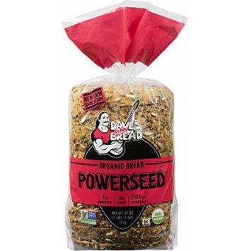 Dave's Killer Bread - Powerseed Bread - 1 Loaf - USDA Organic