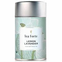Tea Forte Lotus LEMON LAVENDER Loose Leaf Organic Herbal Tea, 3.5 Ounce Tea Tin
