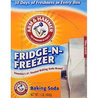 Arm & Hammer Baking Soda Fridge Freezer Package, 16-Ounce Boxes (Pack of 6)