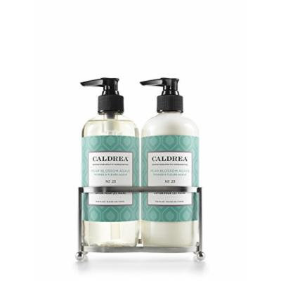 Caldrea Pear Blossom Agave Stainless Sink Set