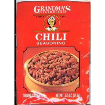 Grandmas Chili Seasoning Mix .875 Oz