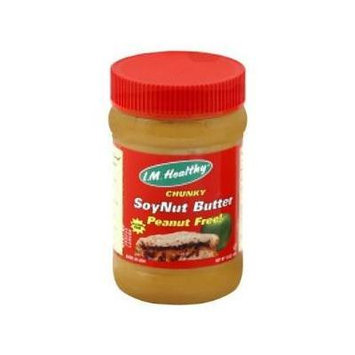 I.M. Healthy Soynut Butter Original Chunky -- 15 oz (2 Pack)
