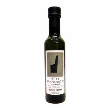 Villa Manodori Essenziale Extra Virgin Olive Oil w/ Essential Oil of Black Pepper, 8.5 oz