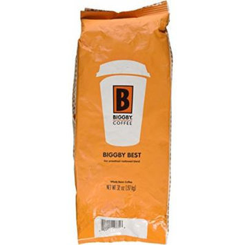 Biggby's Biggby Best 32 Oz Bag, Whole Bean, Smooth Mellow Blend