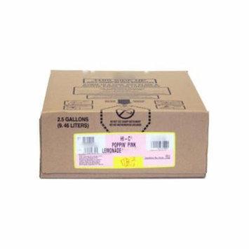 HI-C Poppin Pink Lemonade Syrup 2.5 Gallon Bag in Box BIB Sodastream