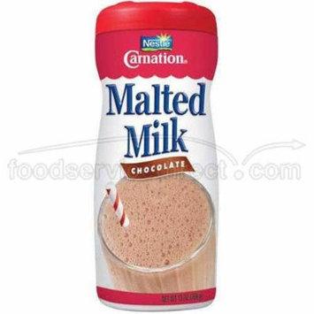 Nestlé Carnation Chocolate Malted Milk, 13 Ounce -- 6 per case.