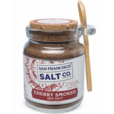 8 Oz Chef's Jar - Cherrywood Smoked Sea Salt