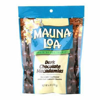Mauna Loa Dark Chocolate Covered Macadamias 6 oz