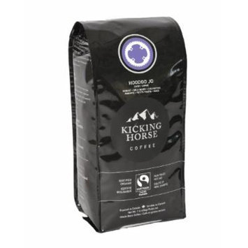 Kicking Horse Coffee, Hoodoo Jo, Whole Bean Coffee, 1 lb