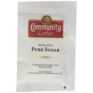 Community Coffee Sugar Bulk Pack, 1000 Count