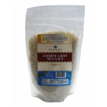 Coarse Gray Sea Salt From Guérande 2 Lb Stand up Pouch