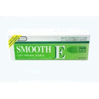 3X Smooth E Cream With Vitamin E & Aloe Vera for For Gentle Face And Body Care Net Wt. 1.41 Oz (Pack of 3 tube)