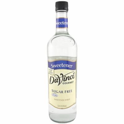 DaVinci Gourmet Sugar-Free Flavored Syrups Simple Syrup Sweetening 750 mL