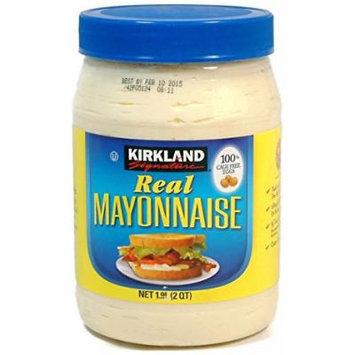 Real Mayonnaise - 2 Quart Jar - Kirkland Signature (64 Oz.)