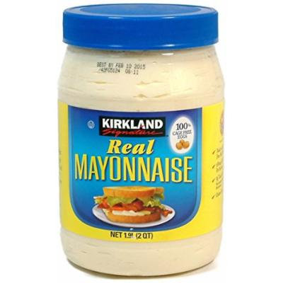 Real Mayonnaise - 2 Quart Jar - Kirkland Signature (64 Oz.)