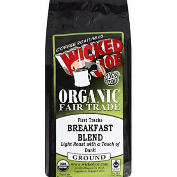 Wicked Joe Coffee Coffee Ground Blend M Rst