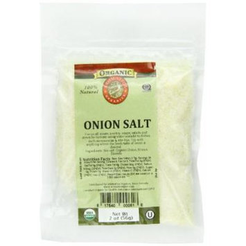 Aromatica Organics Salt Free Onion Salt, 2-Ounce (Pack of 6)