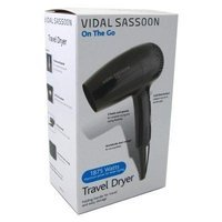 Vidal Sassoon Vsdr5523 1875w Stylist Travel Dryer, Black (Pack of 3)
