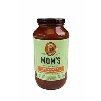 Mom's Pasta Sauce, Primavera, 24 Ounce (pack of 6)