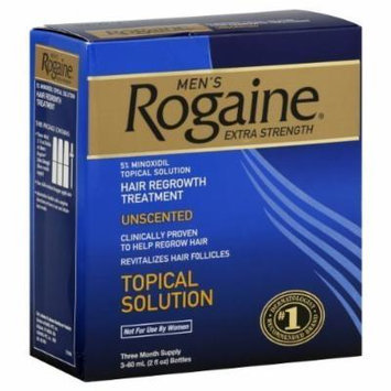 Rogaine Mens Regrowth X-Strength 5% Unscented 3 Month
