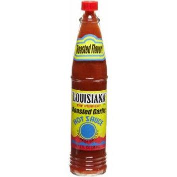 Louisiana Roasted Garlic Hot Sauce, 3 Ounce
