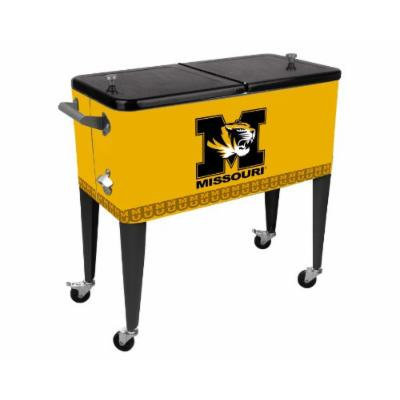 Sainty Art Works 29-003 University of Missouri Patio Cooler, 80-Quart