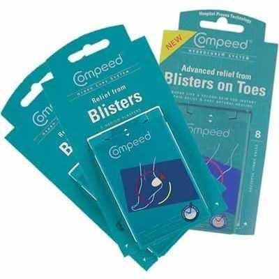 Compeed Blister On Toe plasters - X Small