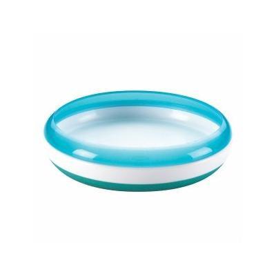 OXO Tot Tot Plate, Aqua 1 Ea