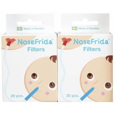 FridaBaby NoseFrida Replacement Filters - 20 ct - 2 pk